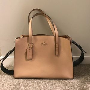 Coach Charlie Carryall bag with Gunmetal Strap